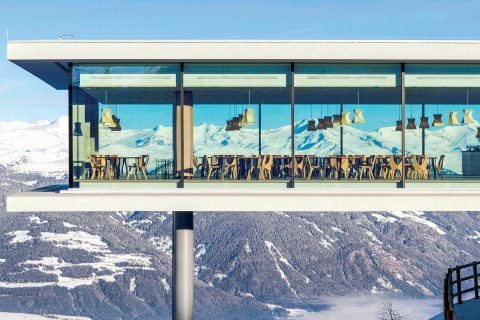 Ovo je fotografija AlpiNN Restorana Na Vrhu Kronplatza