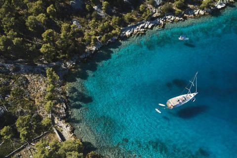 Ovo je fotografija Green Sail organizacije o održivosti morskog okoliša