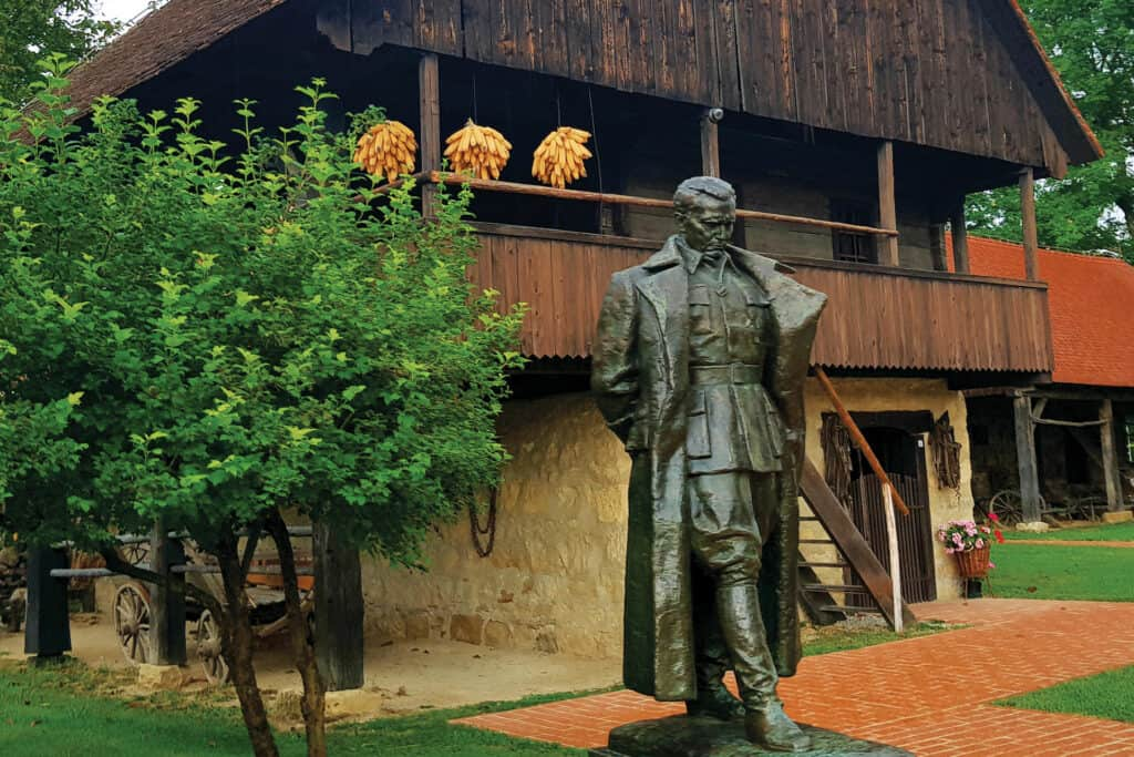 Ovo je fotografija Muzej Staro Selo Kumrovec