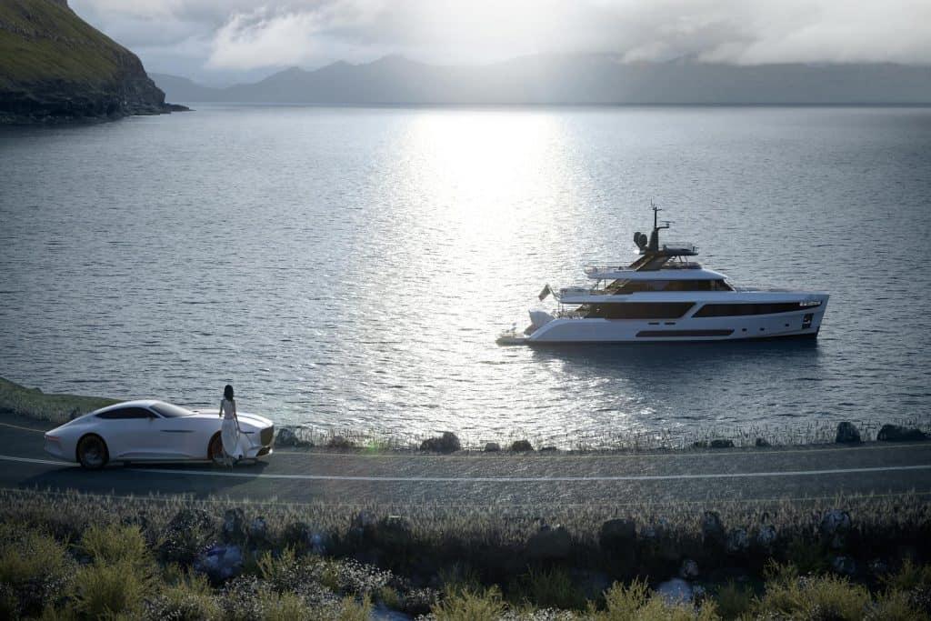 Ovo je fotografija Benetti Motopanfilo Navis marine