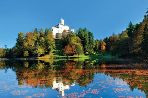Ovo je fotografija dvorca Trakosšćn