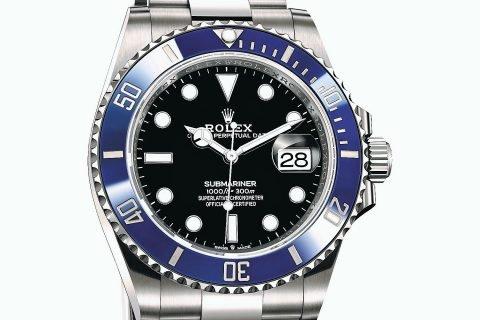 Ovo je slika Rolex Submariner Date Plavi Prsten 01