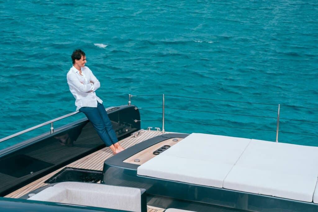 Ovo je fotografija Sunreef 80 Power Rafa Nadal