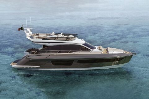 This is a photography of Azimut 53