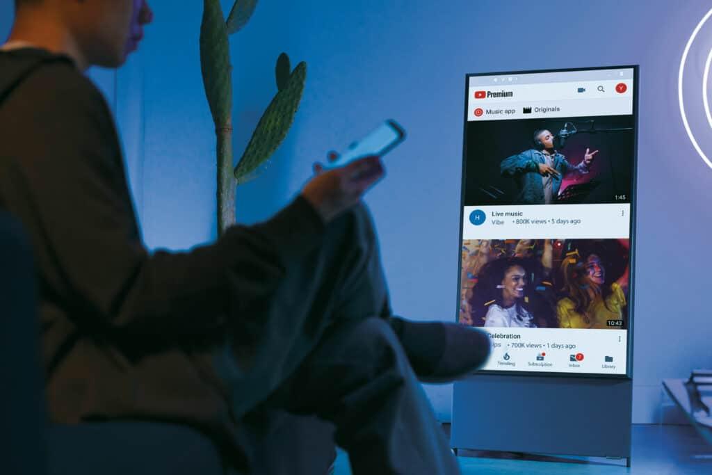 Ovo je fotografija Samsung the Sero