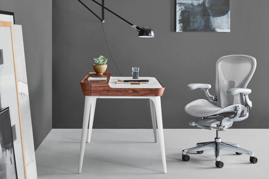 Ovo je fotografija Herman Miller uredske stolice Aeron