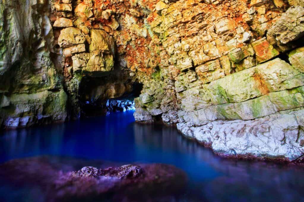 Ovo je fotografija Odisejeva špilja otok Mljet