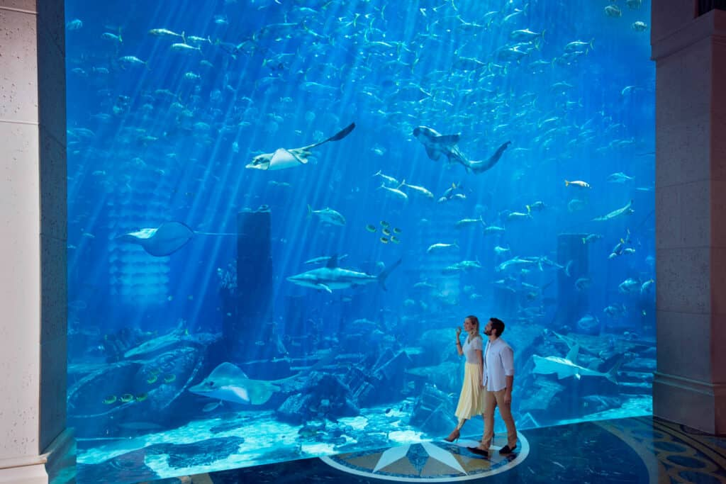 Ovo je fotografija Atlantis the Palm lobby