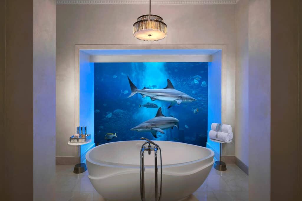 Ovo je fotografija kupaonice pod morem