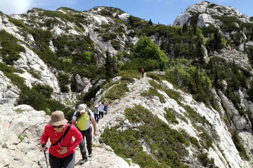Ovo je slika Premužićeva staza planinarenje