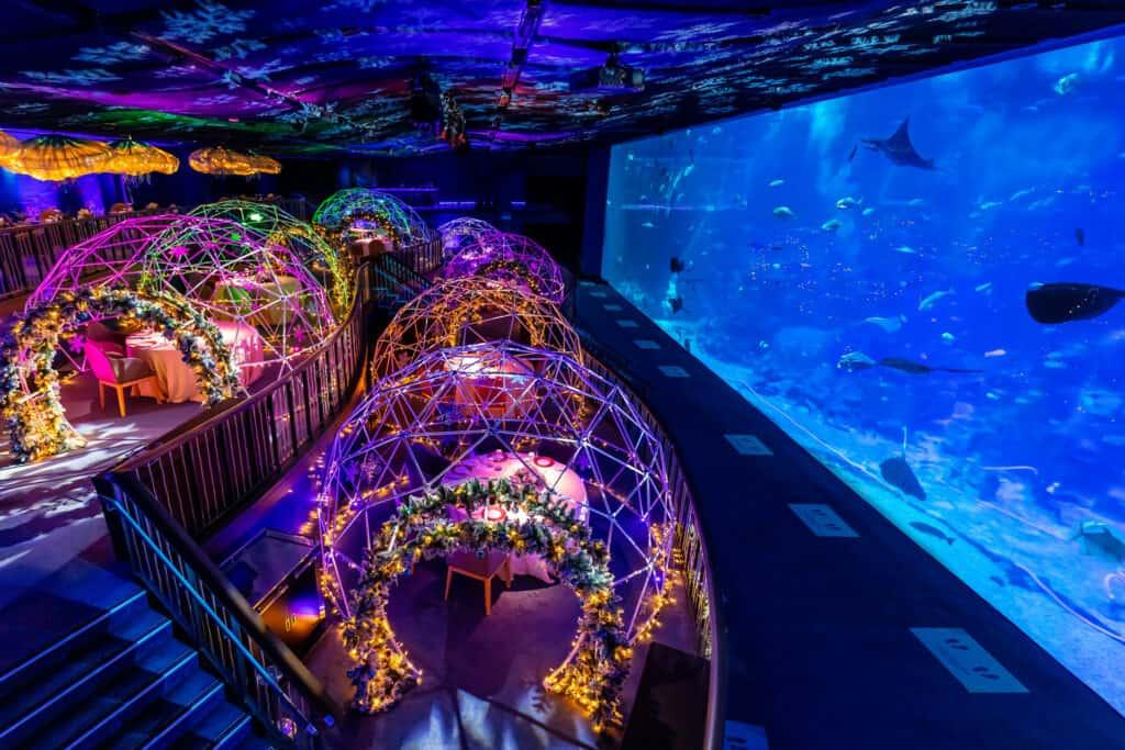 Ovo je fotografija restorana pod morem podvodni hoteli