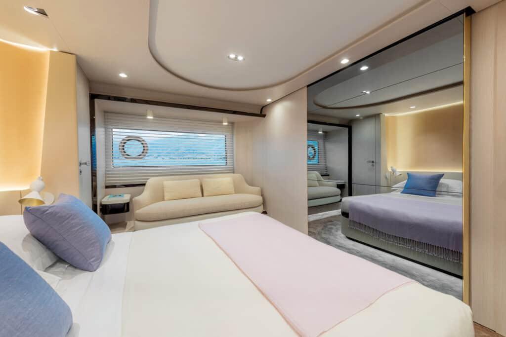 Ovo je fotografija vlasničke kabine novog Azimut modela