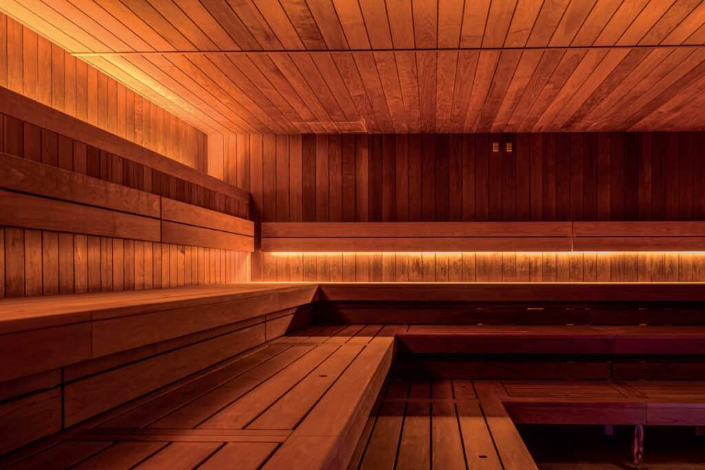 Ovo je fotografija Rijeka Hilton spa centar sa saunom