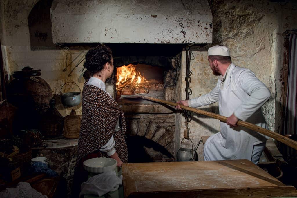Ovo je fotografija kruh u krušnoj peći
