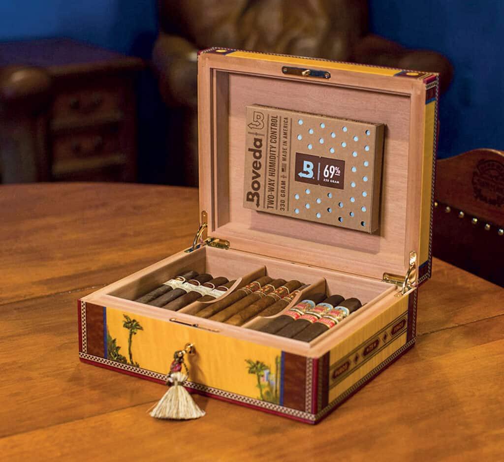 Ovo je fotografija humidor za cigare
