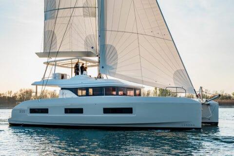 Ovo je fotografija novog modela Lagoon 55