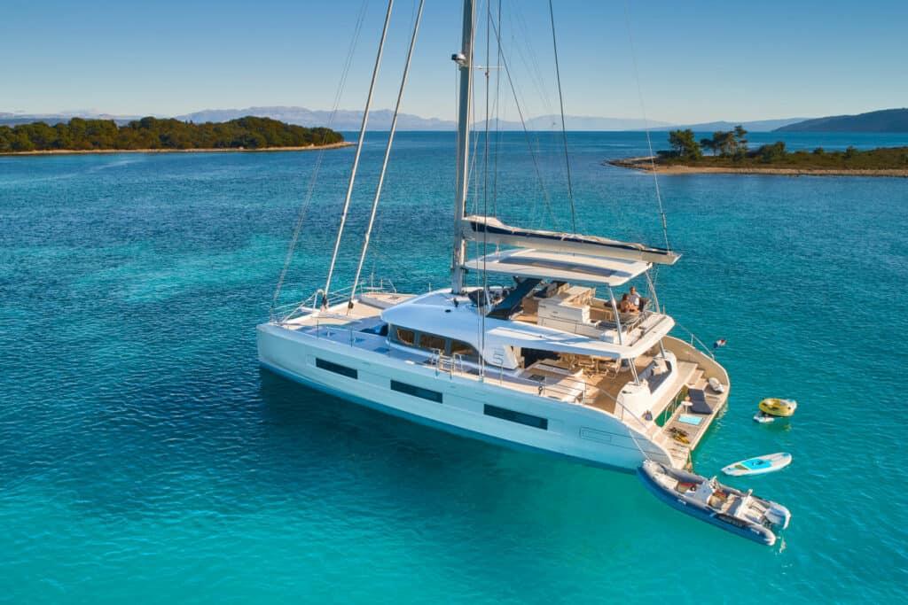 Ovo je fotografija Lagoon katamarana Sixty 5