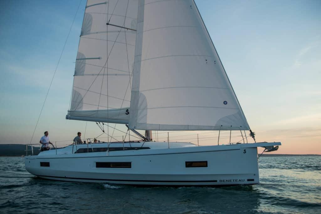 Ovo je fotografija Oceanis 40.1 za Ultra Sailing
