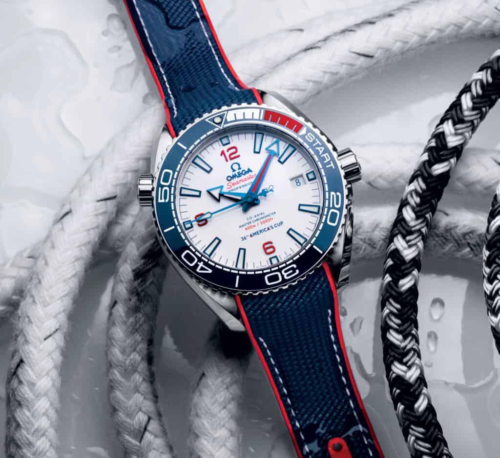 Ovo je fotografija Omega Seamaster nautički satovi