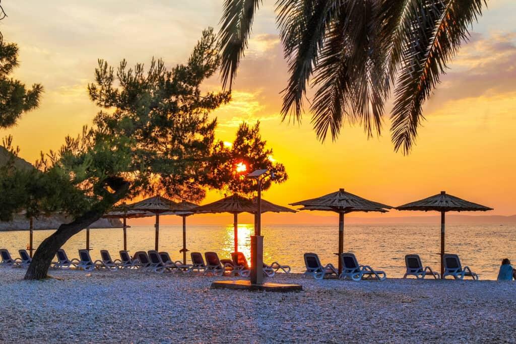 Ovo je fotografija plaže Pozora