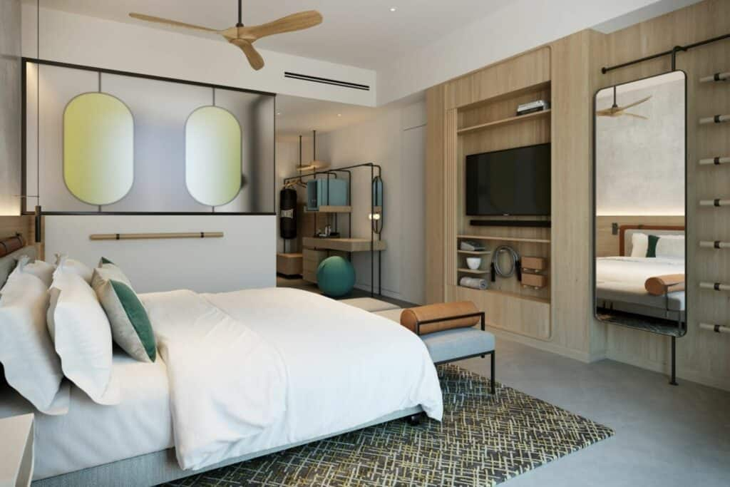 This is a photography of SIRO Boka Place Guest Room