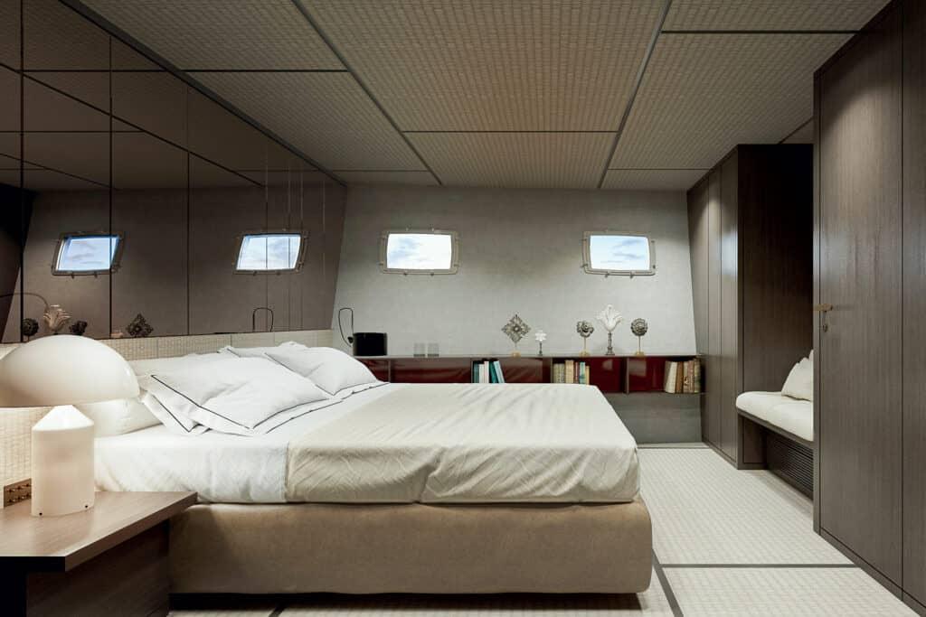 Ovo je fotografija VIP kabina Sanlorenza SX112