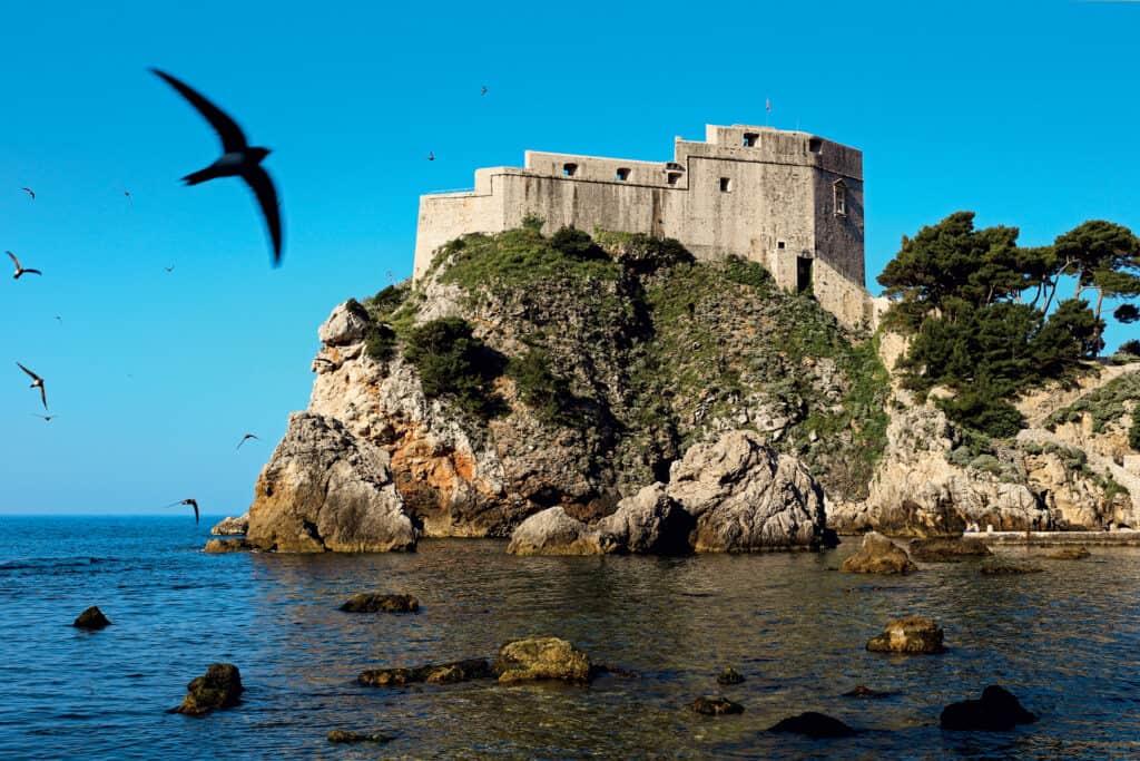 Ovo je fotografija tvrđava Lovrijenac u Dubrovniku