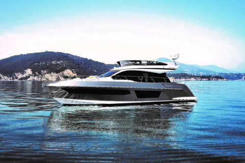 This is a pgotography of new Azimut 53 sde view