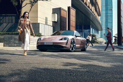 Ovo je fotografija novi Porsche Taycan