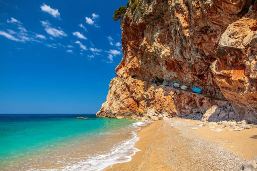 Ovo je fotografija plaža Pasjača