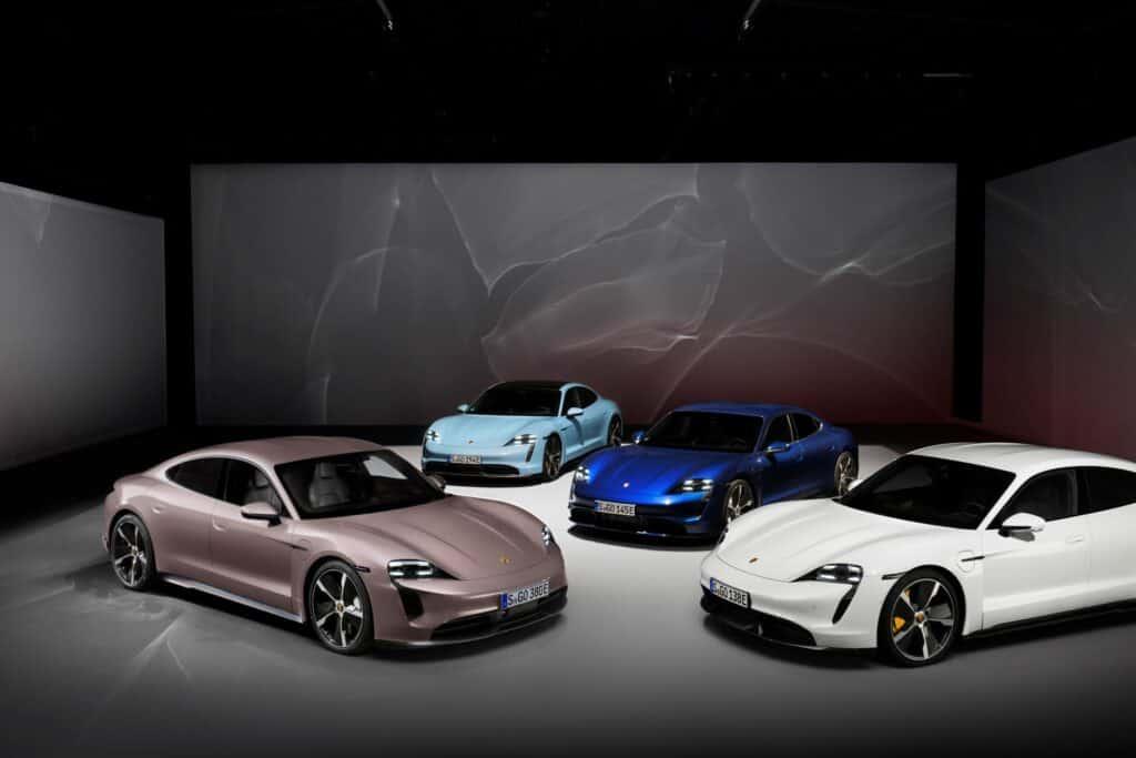 Ovo je fotografija modeli Porsche Taycan