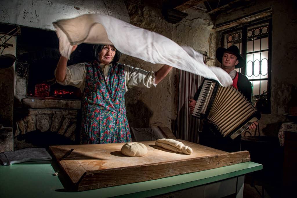 Ovo je fotografija pripreme kruha