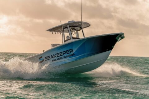 Ovo je fotografija Seakeeper brodski stabilizator