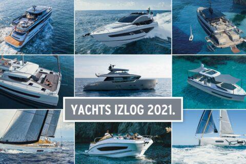 Ovo je fotografija Yachts izlog 2021 nova plovila