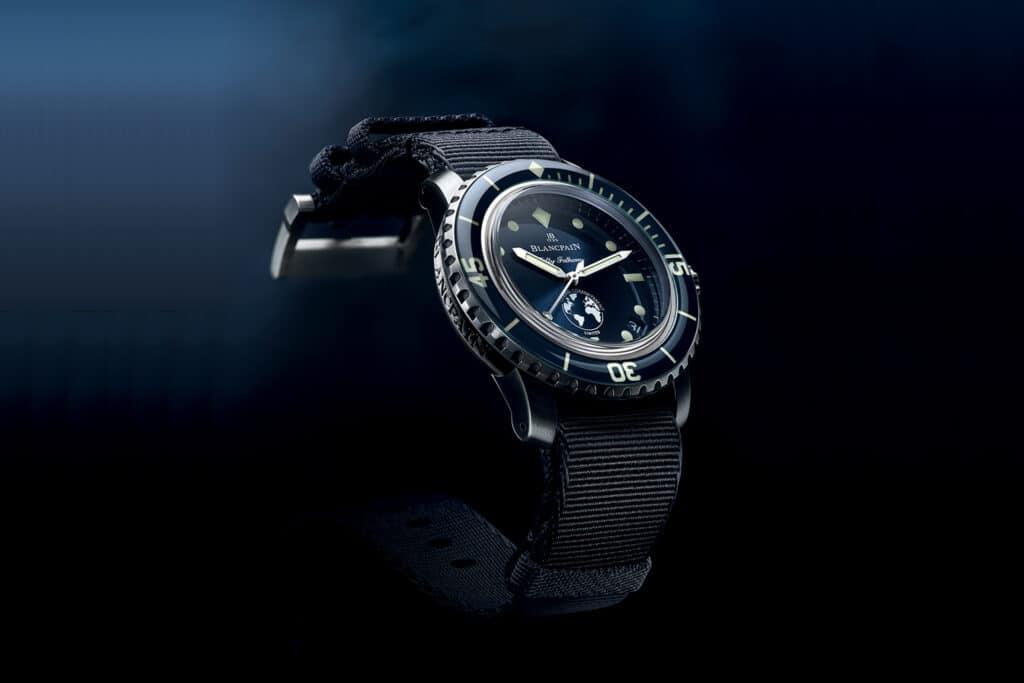 Ovo je fotografija Blancpain Fifty Fathoms ronilačkog sata