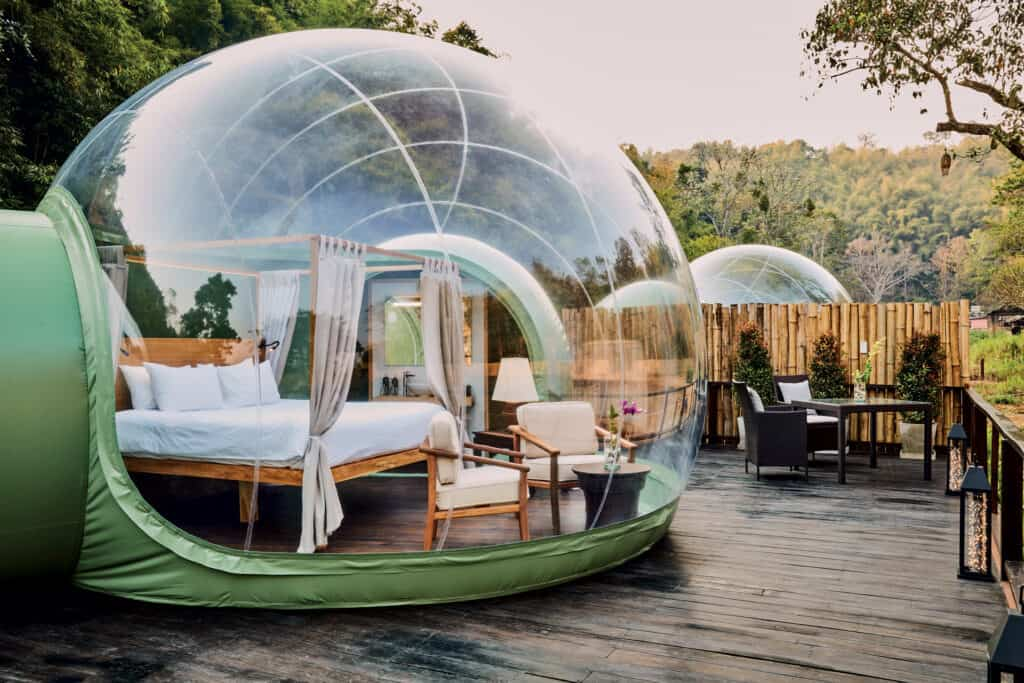 Ovo je fotografija Jungle bubble hotel