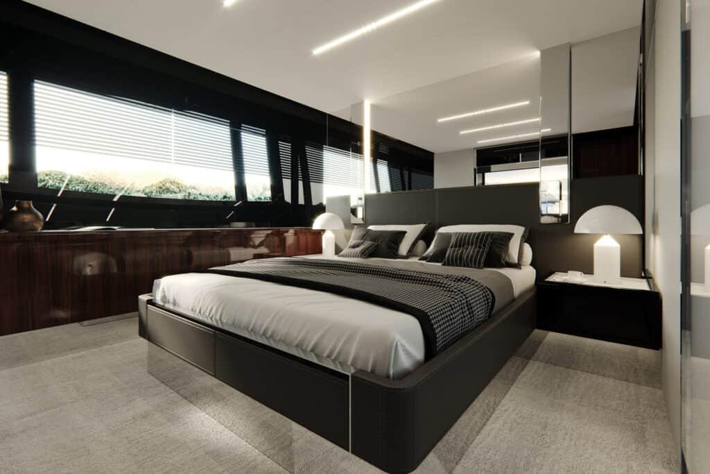 Ovo je fotografija Riva 76 Perseo kabina