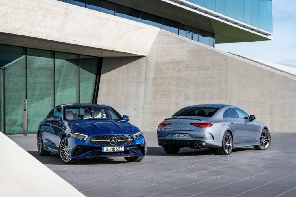 Ovo je fotografija novi Mercedes CLS