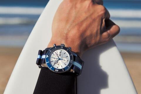 Ovo je fotografija Breitling Superocean Heritage Ocean Conservancy Limited Edition ronilački satovi