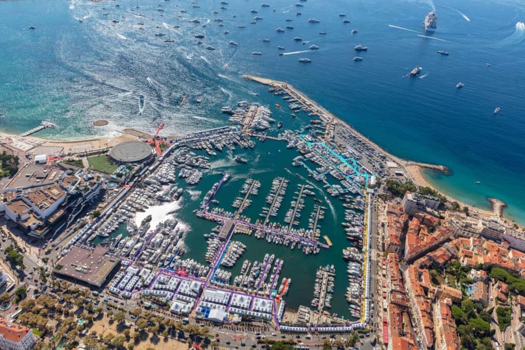 ovo je fotografija Yachting Festival Cannes 2021 marina