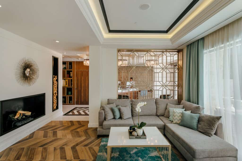 Ovo je fotografija hotela Casa del Mare lobi