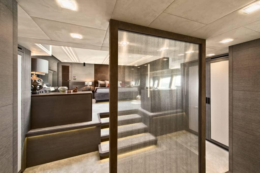 Ovo je fotografija vlasničke kabine na novom modelu MCY 105