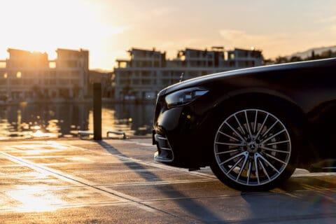 Ovo je fotografija nove Mercedes S-class at Portonovi