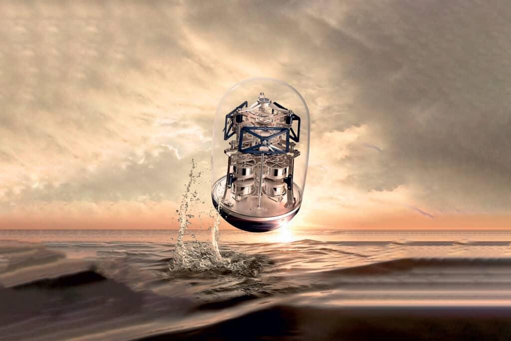 Ovo je fotografija sata Ulysse Nardin UFO