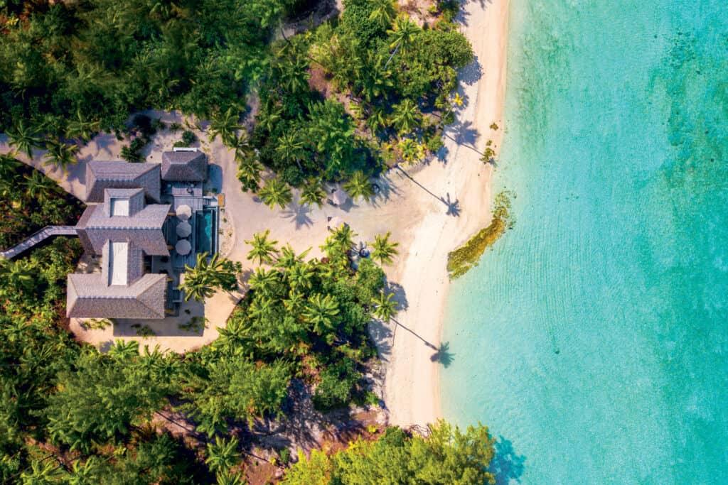 ovo je fotografija resort Brando privatni otoci