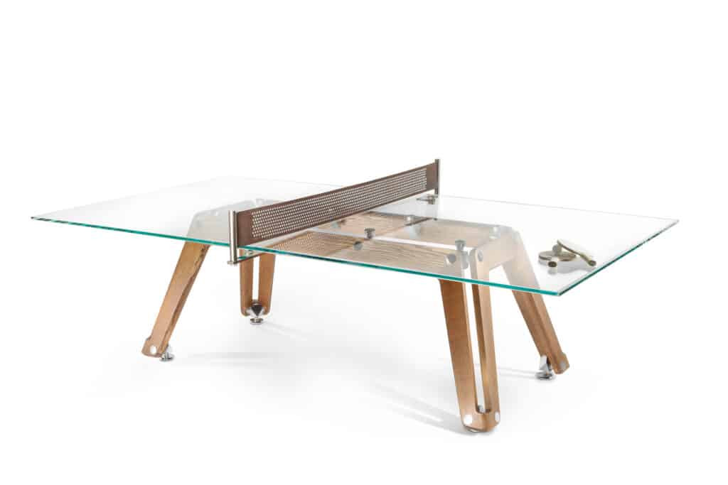 This is photo of a ping pong table
