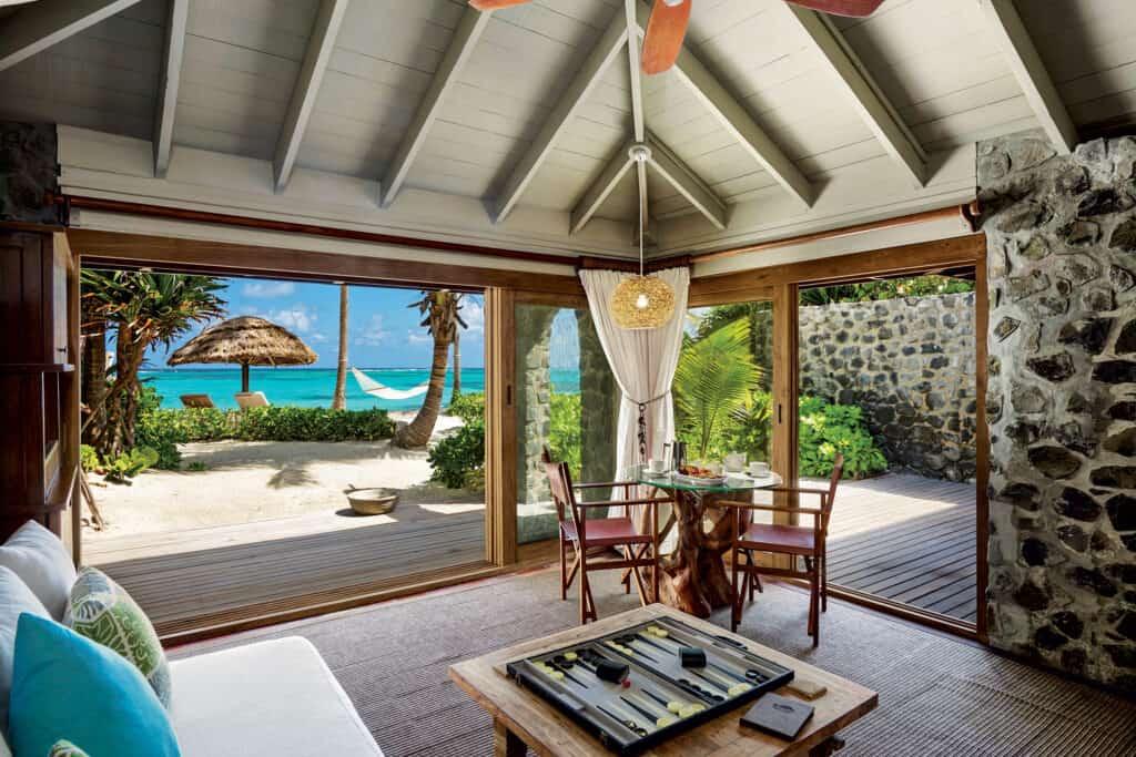 Ovo je fotografija Petit St. Vicent soba, privatni otoci