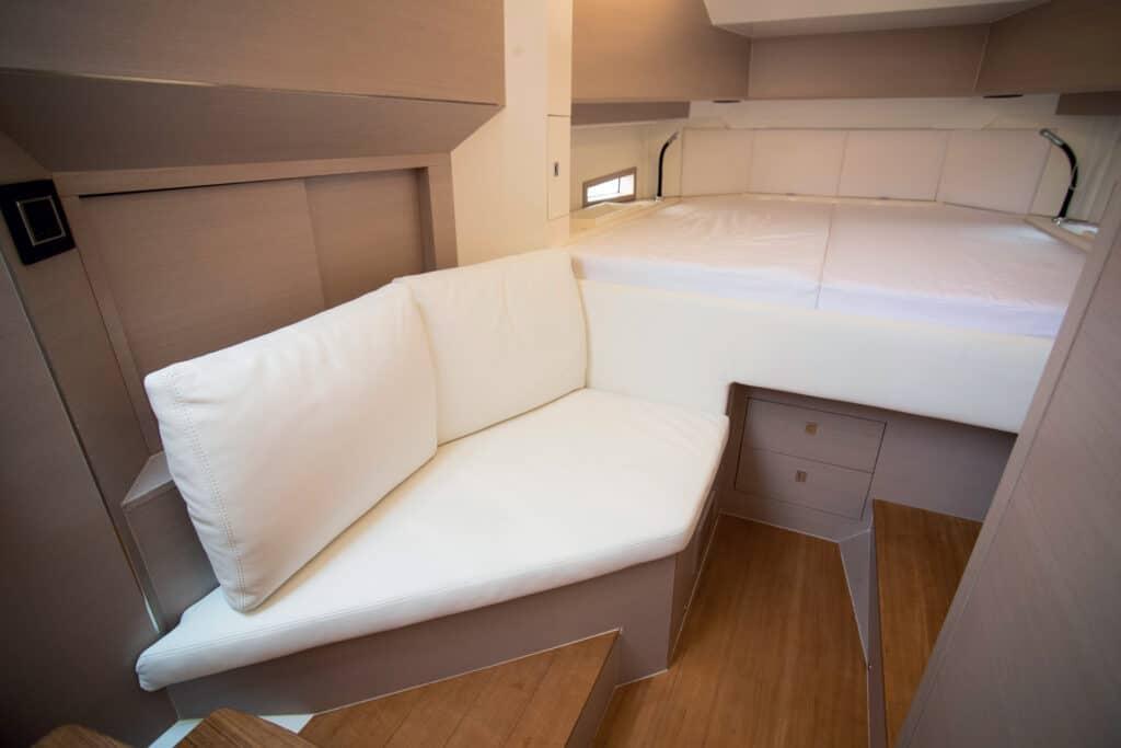 ovo je fotografija kabine Sacs Rebel 40