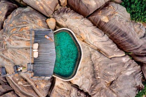 Ovo je fotografija Six Senses Zil Pasyon, privatni otoci