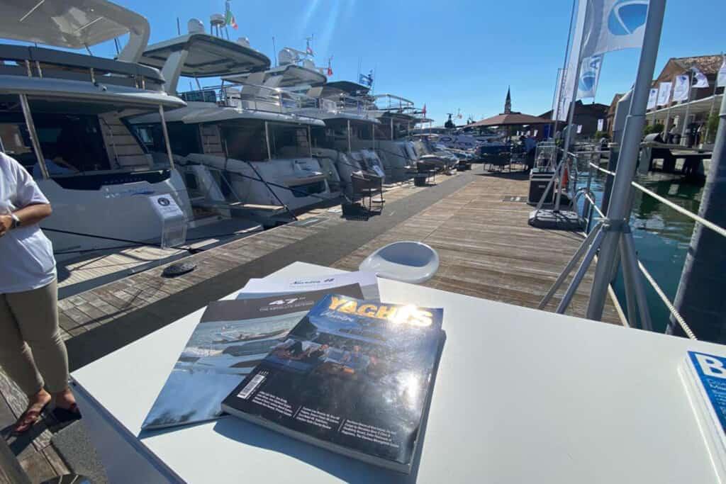 Ovo je fotografija časopisa Yachts Croatia